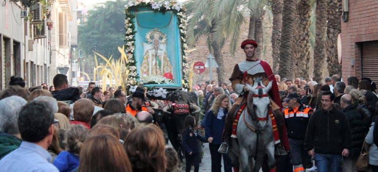Les Festes de la Vinguda de la Mare de Déu d'Elx declarades Bé d'Interés Cultural Immaterial