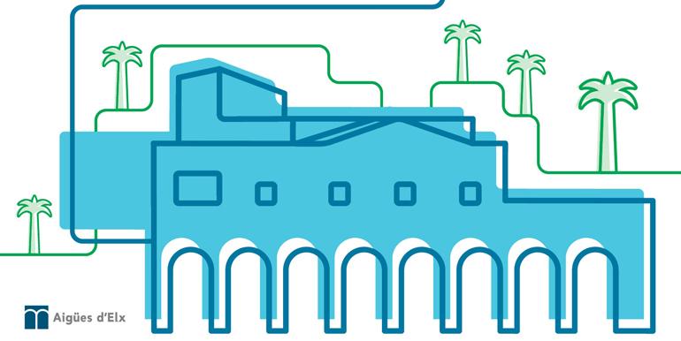 AIGÜES D'ELX gestiona de manera sostenible el cicle de l'aigua a Elx