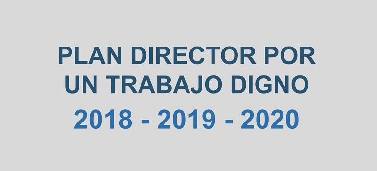 Plan Director por un Trabajo Digno 2018-2019-2020