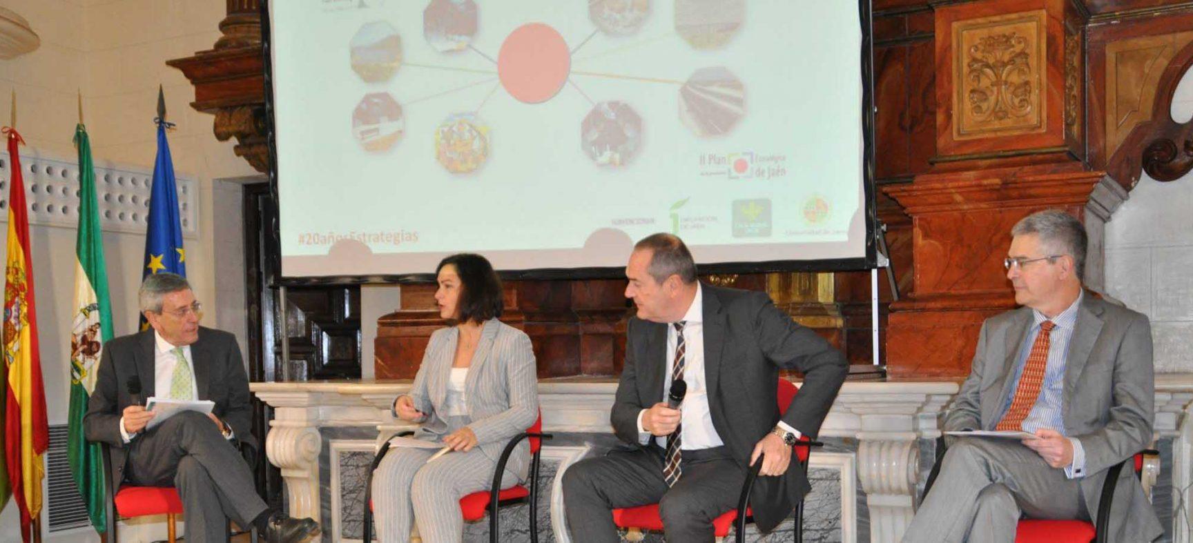 Elx2030 participa en la jornada de celebración del 20º aniversario del Plan Estratégico de la provincia de Jaén