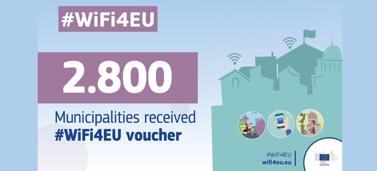 Elche,  uno de los municipios europeos incluidos en la iniciativa WiFi4EU