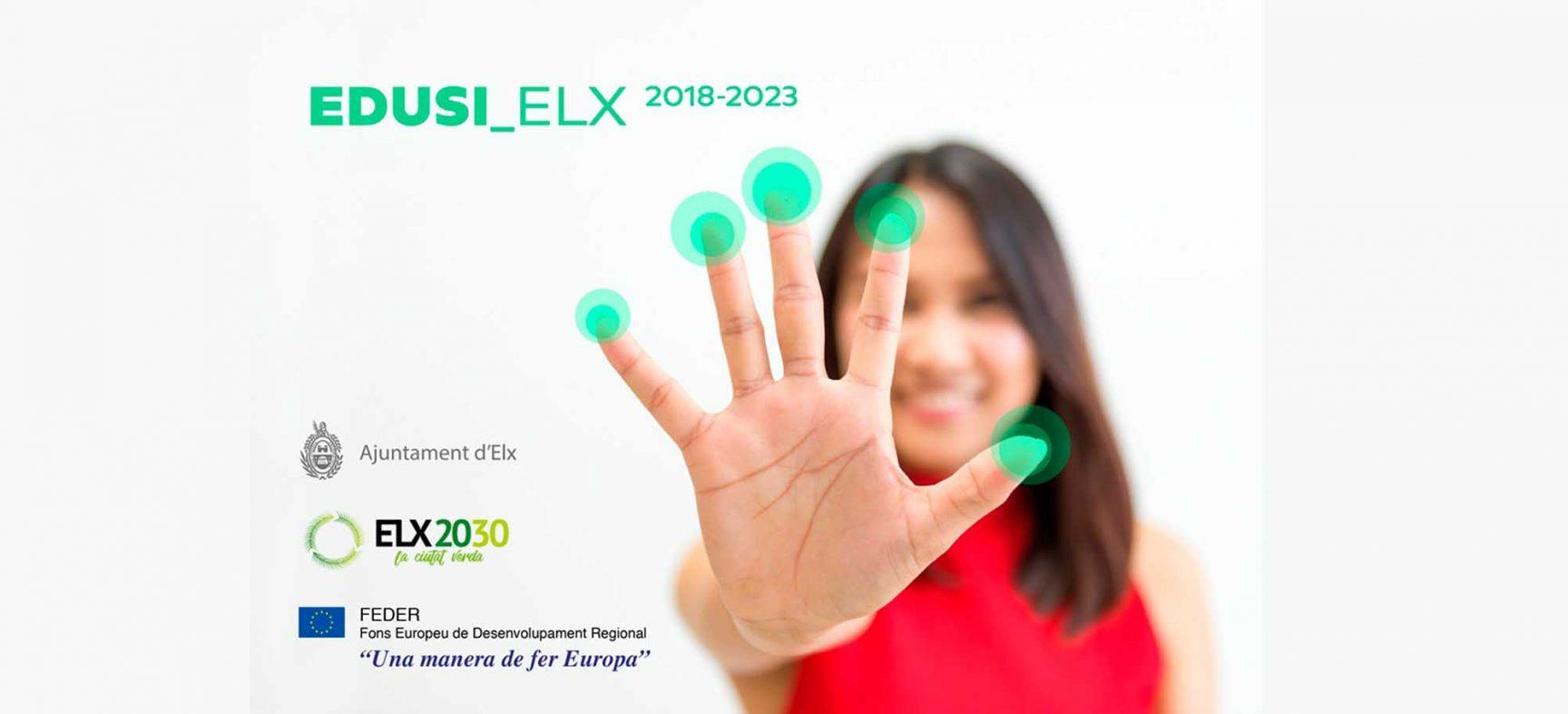 Exposición de los proyectos EDUSI Elx 2018-2023 en Las Clarisas