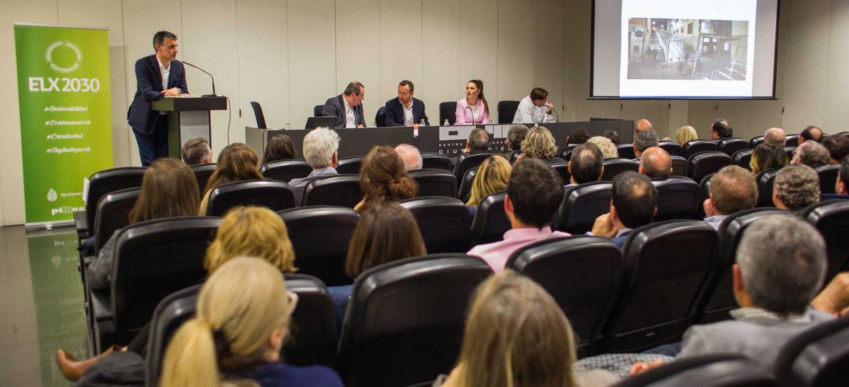Iñaki Prusilla explica a Elx com Vitòria-Gasteiz es va convertir en Capital Verda Europea 2012