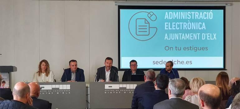 La administración electrónica del Ayuntamiento de Elche se pone en marcha