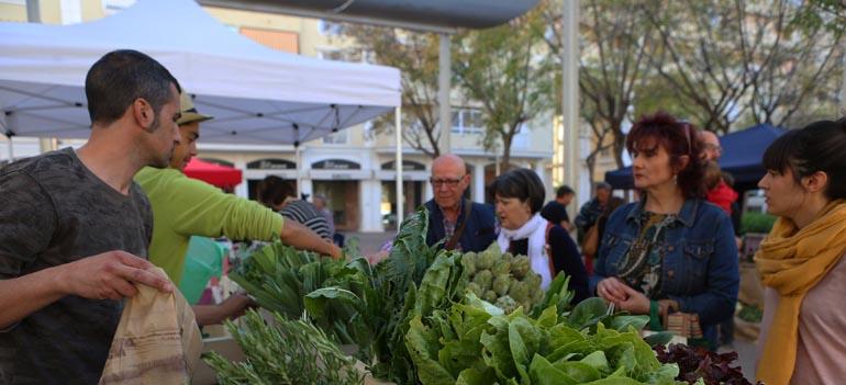 Mercado de Elche-Ecológico y Local en el Barrio de El Raval
