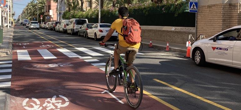 Elx ampliarà en 5 quilòmetres el carril bici