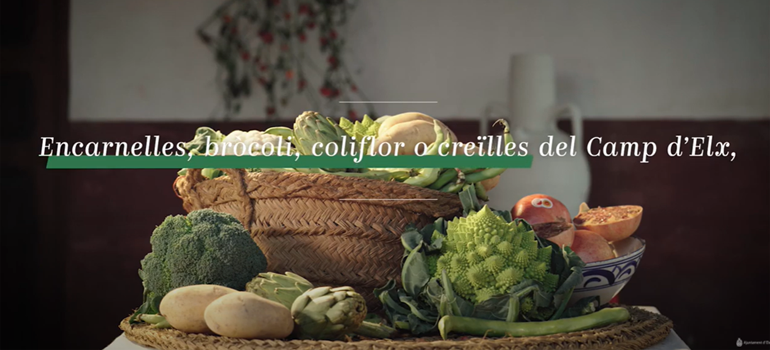 Campanya per a impulsar el consum dels productes agrícoles del Camp d'Elx