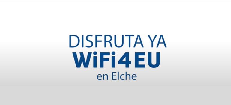120 puntos de wifi gratuito en Elche