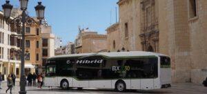 Nous autobusos híbrids a Elx