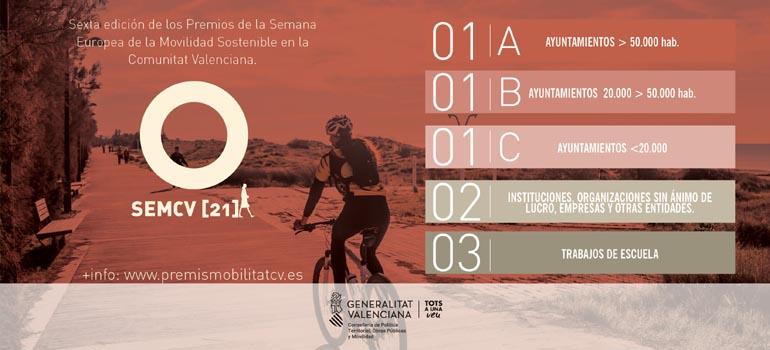 La Corredora primer premi Setmana Europea de la Mobilitat.